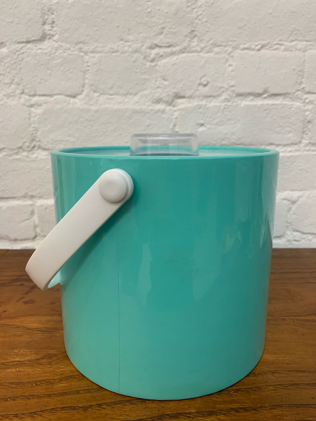 Aqua Blue Ice Bucket