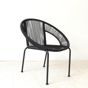 Izzy Outdoor Chair in Black