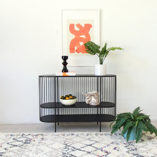 Black Deco Modernist Shelf