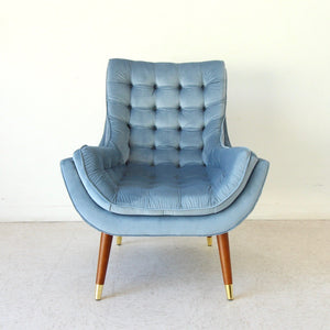 Soto Chair in Dusty Blue