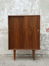 Load image into Gallery viewer, Walnut Bar Cabinet Multi Purpose Piece