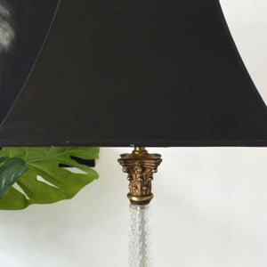 Antique  Hollywood Glamour  Lamp