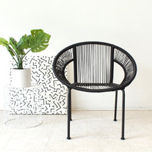 Load image into Gallery viewer, Black Outdoor Chair