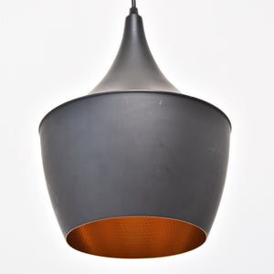 Black Scandinavian Mod Pendant Lamp