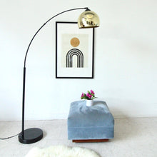 Load image into Gallery viewer, Brass Arc Lamp