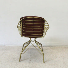 Load image into Gallery viewer, Eastman Leather and Gold Dining Chair