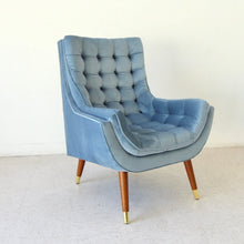 Load image into Gallery viewer, Soto Chair in Dusty Blue