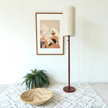"Load image into Gallery viewer, ""Broadway"" Wood Floor Lamp"