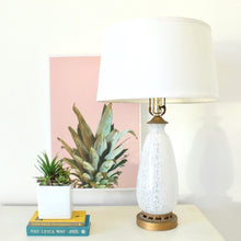 Load image into Gallery viewer, White  1960's Murano Lamp