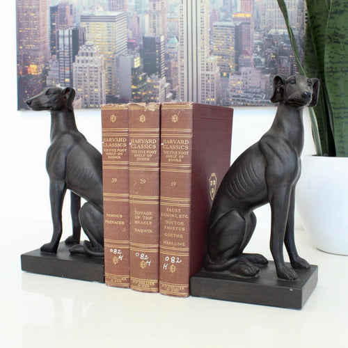 Greyhound Bookends