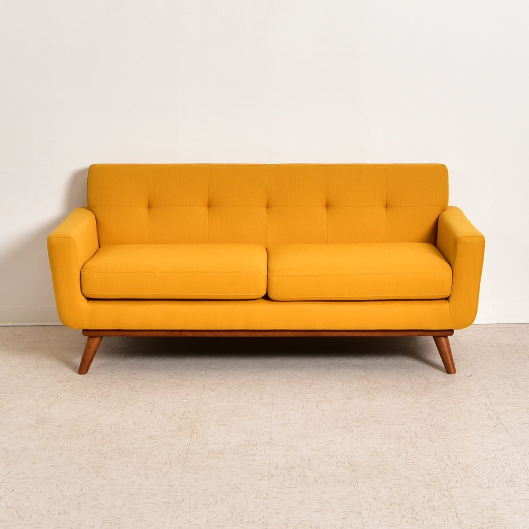 """West"" Gold Mustard Sofa"