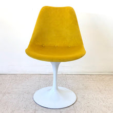 Load image into Gallery viewer, Bright Yellow New Tulip Chair Newly Upholstered