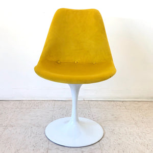 The Tulip Chair in Bright Yellow
