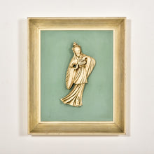 Load image into Gallery viewer, 1960's East Asian Sculpture Art Framed