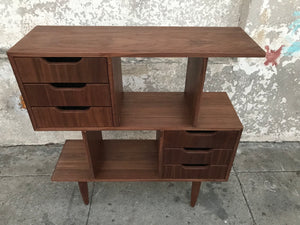 Palo Alto Six-Drawer Bookcase