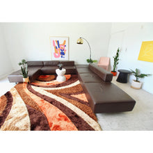 Load image into Gallery viewer, Harvey Probber Leather Cubo  Sectional Sofa