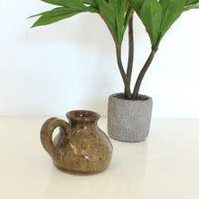 Load image into Gallery viewer, Brown Speckled stoneware jug