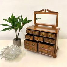Load image into Gallery viewer, Miniature Chest of Drawers Jewelry Box