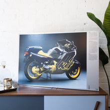 "Load image into Gallery viewer, ""BMW K 1"" Poster on Foamboard"