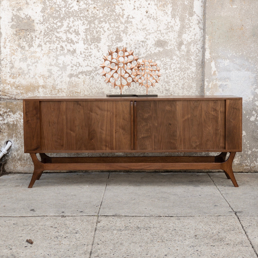 Sunbeam Vintage Collection Custom Tambour Door Credenza