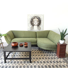 Load image into Gallery viewer, Amoeba Green 2 Piece Sectional Sofa