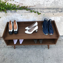 Load image into Gallery viewer, Handmade Storage Shelf & Shoe Rack