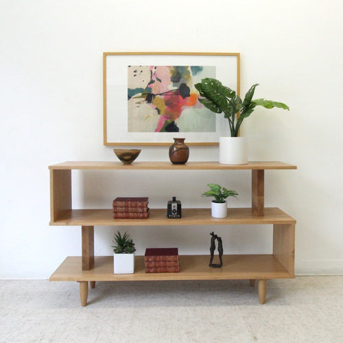 """Chela"" Solid Oak Bookshelf"