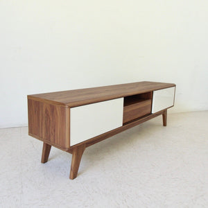 59 Dominique Low Profile Credenza With Sliding Doors