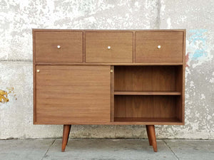 Victor Walnut Storage Console