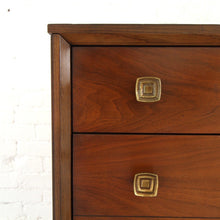 Load image into Gallery viewer, 1960's Bassett Highboy Dresser