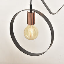 Load image into Gallery viewer, Geometric Tri-Bulb Pendant
