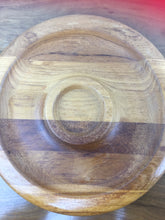 Load image into Gallery viewer, Vintage Wood Serving Platter