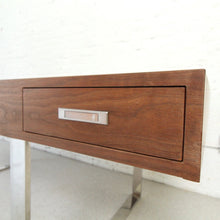 Load image into Gallery viewer, Walnut Large Executive Desk