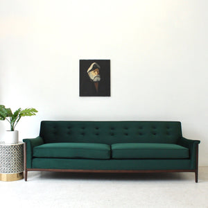Franklin Sunbeam Exclusive Sofa in MONACO OLIVE
