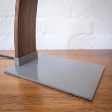 Load image into Gallery viewer, Clark Desk Lamp in Grey & Walnut