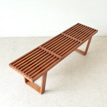Load image into Gallery viewer, Sol Slatted Bench