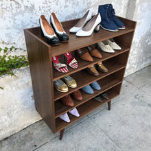 Load image into Gallery viewer, Handmade Storage Five-Tier Shelf/Shoe Rack