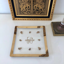 Load image into Gallery viewer, 50th Anniversary 24k Gold  Tray
