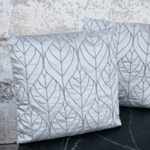 """Winter Leaves"" Pillow"