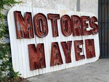 Load image into Gallery viewer, Huge  Motores Mayen Sign