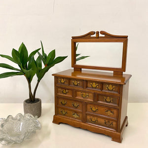 Miniature Chest of Drawers Jewelry Box