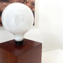 Load image into Gallery viewer, Solid Walnut Chunky Walnut Lamp