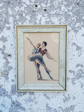 Load image into Gallery viewer, Ballet Framed Print Art Piece