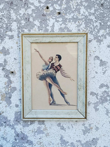 Ballet Framed Print Art Piece