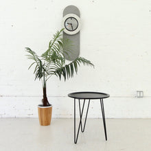 "Load image into Gallery viewer, ""Claudia"" Metal Table with Hairpin Legs in Black"