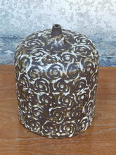 Load image into Gallery viewer, Large Le Creme De Rose Stoneware Vase Studio Pottery
