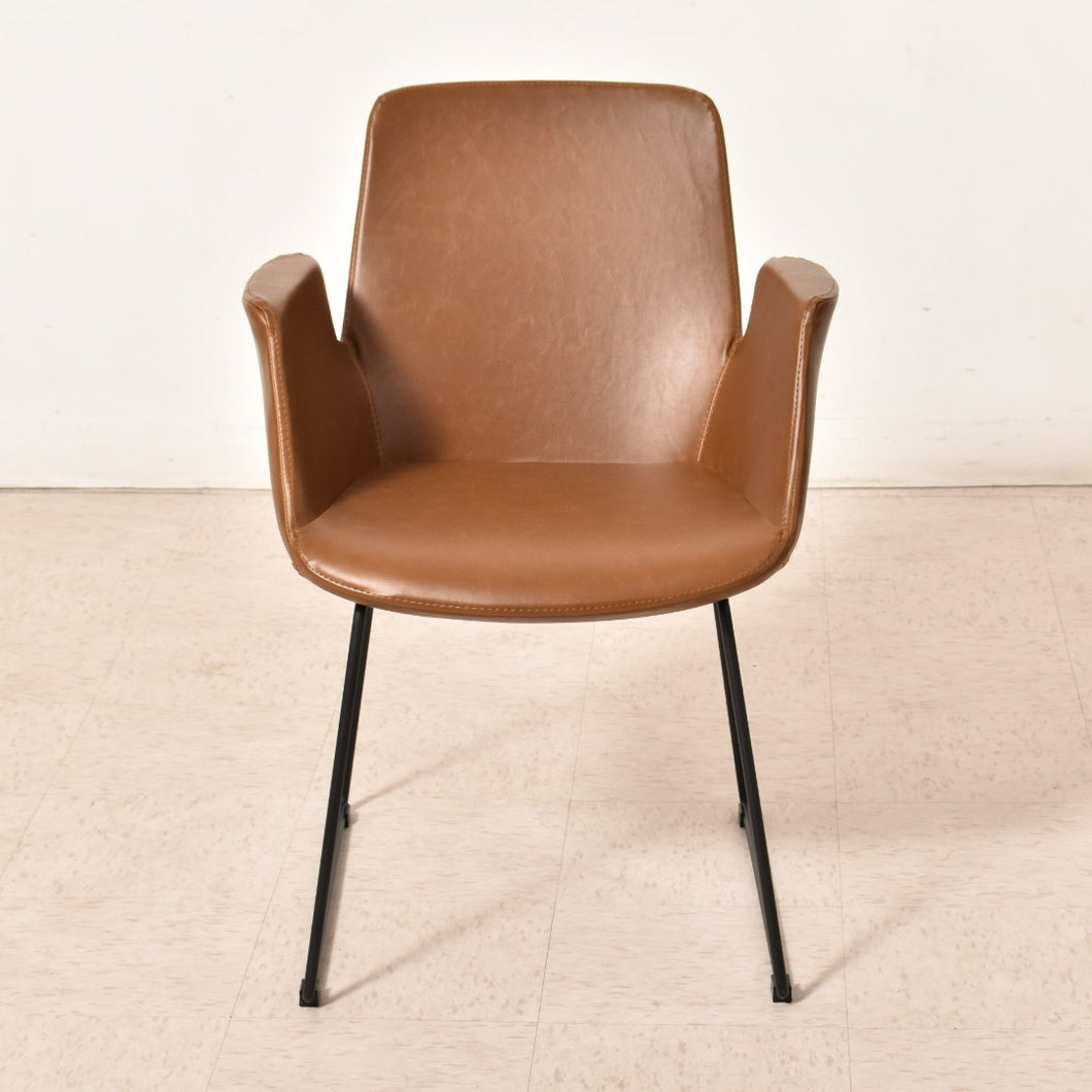 """Baldwin"" Chair in Cocoa"