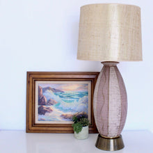 Load image into Gallery viewer, 1960s Cigar Shaped Lamp