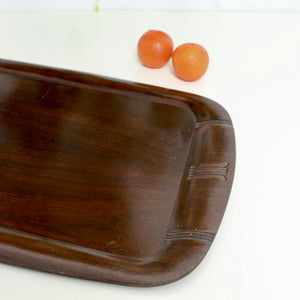 Black Walnut 1920's Art Deco Tray