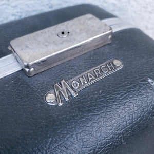 Grey  Suit Case by Monarch